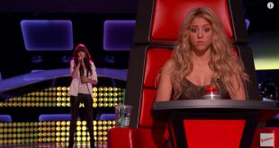 Когато това момиче започна да пее на кастинга , Шакира не можа да повярва на това, което чу!!!