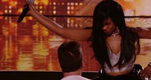 УНИКАЛЕН КАСТИНГ!!! 37-годишна направи лудо шоу в Х Фактор / Bupsi Brown gets Cowell'd - The X Factor Uk 2015