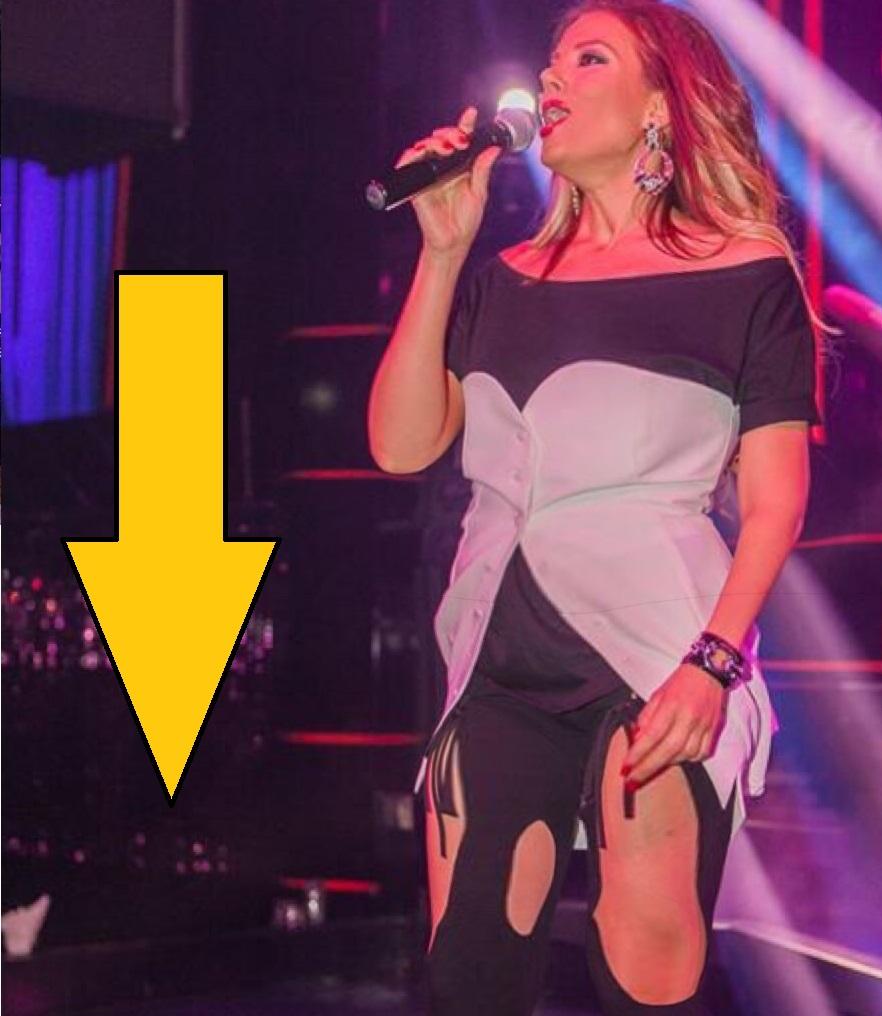 Емилия втрещи феновете си: Пя пред тях с раздран клин (Кога успя да налее 10 кила отгоре?)